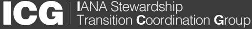 IANA Stewardship Transition Coordination Group (ICG)